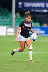 Garnet Mackinder of Saracens Ladies during the pre match warm up - Mandatory by-line: Craig Thomas/JMP - 30/09/2017 - RUGBY - Sixways Stadium - Worcester, England - Worcester Valkyries v Saracens Women - Tyrrells Premier 15s