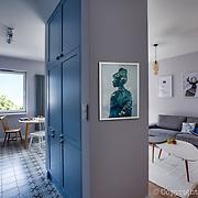Zoliborz apartment interior