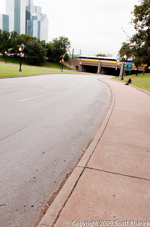 The street in Dallas where President Kennedy was assassinated. Missoula Photographer