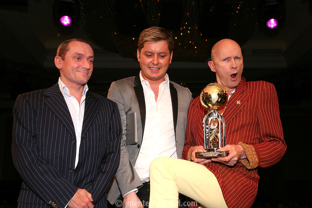 Laurie Milne, Brian Dowling and Richard O'Brien
