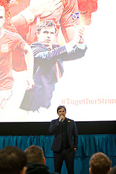 NANTGARW, WALES - Wednesday, March 1, 2017: Wales manager Chris Coleman attends the premier of Don't Take Me Home - the incredible true story of Wales' Euro 2016 at Showcase Cinema Nantgarw on St. David's Day. (Pic by David Rawcliffe/Propaganda)