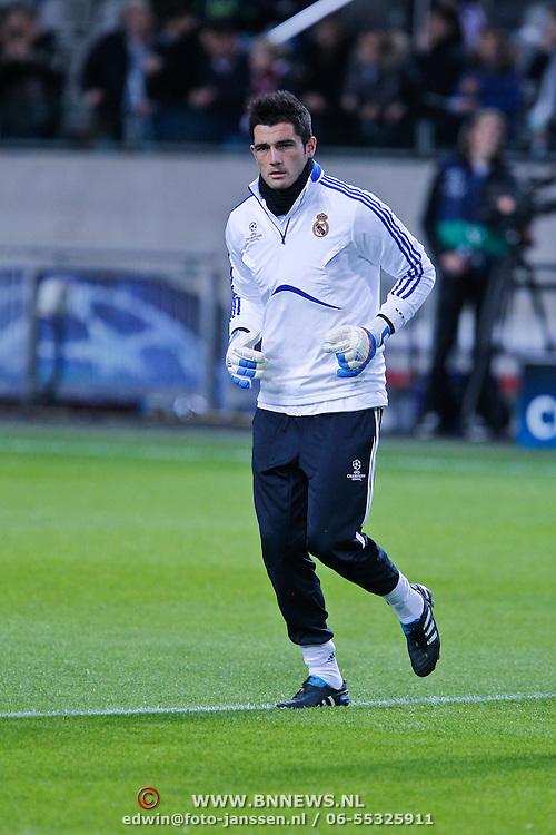 NLD/Amsterdam/20101123 - Ajax - Real Madrid, keeper iker Casallas