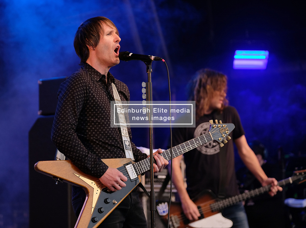 Party at the Palace, Linlithgow, Saturday 12th August 2017<br /> <br /> Ash performs at Party at the Palace <br /> <br /> (c) Alex Todd   Edinburgh Elite media