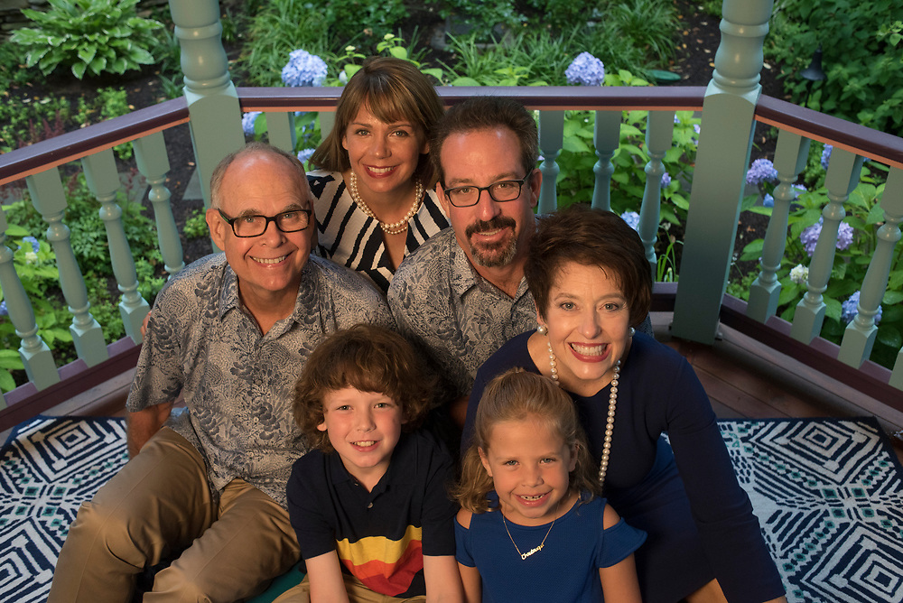 The Bear and Perry family in Chautauqua, New York.