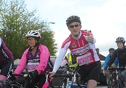 Alan Dillon on the Mayo Pink Ribbon Charity cycle  making the most of the great conditions as he took part in the Mayo Pink Ribbon Cycle on saturday last.<br /> Pic Conor McKeown