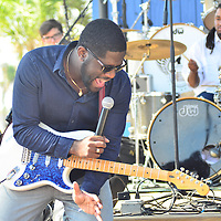 Jamell Richardson performs at the Oysterfest in Gulf Shores, Alabama. Nov 2016