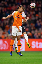 24-03-2019 NED: UEFA Euro 2020 qualification Netherlands - Germany, Amsterdam<br /> Netherlands lost the match 3-2 in the last minute / Virgil van Dijk #4 of The Netherlands