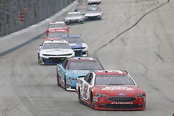 May 6, 2018 - Dover, Delaware, United States of America - Matt DiBenedetto (32) battles for position during the AAA 400 Drive for Autism at Dover International Speedway in Dover, Delaware. (Credit Image: © Justin R. Noe Asp Inc/ASP via ZUMA Wire)