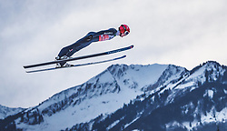 29.12.2018, Schattenbergschanze, Oberstdorf, GER, FIS Weltcup Skisprung, Vierschanzentournee, Oberstdorf, Qualifikation, im Bild Stephan Leyhe (GER) // Stephan Leyhe of Germany during his Qualification Jump for the Four Hills Tournament of FIS Ski Jumping World Cup at the Schattenbergschanze in Oberstdorf, Germany on 2018/12/29. EXPA Pictures © 2018, PhotoCredit: EXPA/ JFK