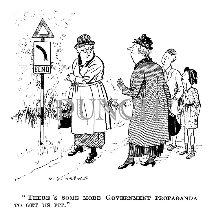 """""""There's some more government propaganda to get us fit."""""""