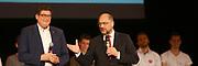 Mannheim. 19.09.17 | SPD-Kanzlerkandidat Martin Schulz im Capitol Mannheim.<br /> Im Wahlkampf zur Bundestagswahl unterstützt Kanzlerkandidat Martin Schulz Mannheims SPD Bundestagsabgeordneter Stefan Rebmann.<br /> <br /> <br /> BILD- ID 2385 |<br /> Bild: Markus Prosswitz 19SEP17 / masterpress (Bild ist honorarpflichtig - No Model Release!)