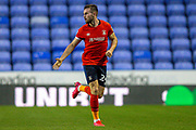 Luton Town defender Rhys Norrington-Davies (24) during the EFL Cup match between Reading and Luton Town at the Madejski Stadium, Reading, England on 15 September 2020.