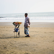 Slow Day, Bangladesh by Nargis.<br /> <br /> Nargis is 13 years old, and makes and sells jewellery on the beach. She was the last of the girls to join the Surfing club, but has picked up on skating very quickly. She loves music, and always carries around a sound box with her while she is working.