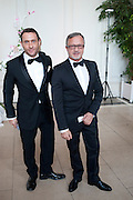 JONATHAN ZLOTOLOW; JACQUES AZAGURY;, English National Ballet Summer party.  All proceeds from the Summer Party go towards English National Ballet. The Orangerie. Kensington Palace. London. 29 June 2011. <br /> <br />  , -DO NOT ARCHIVE-© Copyright Photograph by Dafydd Jones. 248 Clapham Rd. London SW9 0PZ. Tel 0207 820 0771. www.dafjones.com.