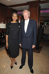 ALGY & BLONDEL CLUFF at a party to celebrate the 180th Anniversary of The Spectator magazine, held at the Hyatt Regency London - The Churchill, 30 Portman Square, London on 7th May 2008.<br /><br />NON EXCLUSIVE - WORLD RIGHTS