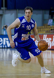 Vjekoslav Petrovic of Helios at third finals basketball match of Slovenian Men UPC League between KK Union Olimpija and KK Helios Domzale, on June 2, 2009, in Arena Tivoli, Ljubljana, Slovenia. Union Olimpija won 69:58 and became Slovenian National Champion for the season 2008/2009. (Photo by Vid Ponikvar / Sportida)
