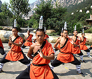 China - Shaolin Monks Practicing Martial Arts - 29 Sep 2016