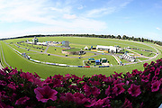 A general view of the Knavesmire prior to Day 3 of the Ebor Festival at York Racecourse, York, United Kingdom on 23 August 2019.
