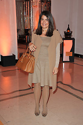 DANIELLA ISSA HELAYEL at the 38th Veuve Clicquot Business Woman Award held at Claridge's, Brook Street, London W1 on 28th March 2011.