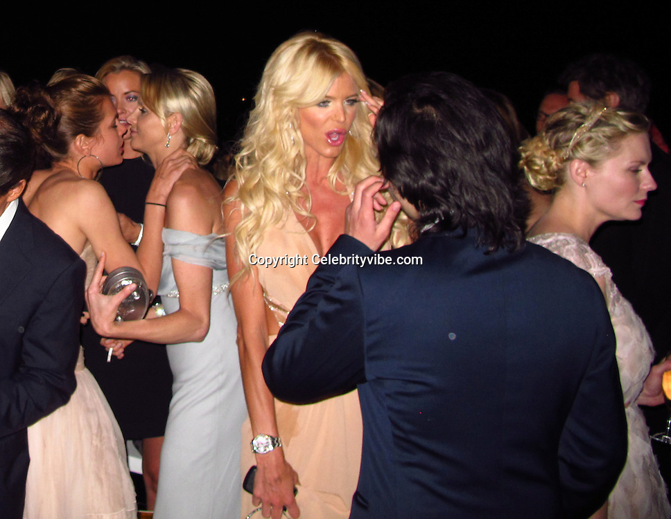Charlotte Casiraghi, Victoria Silvstedt and Kirsten Dunt..2011 amfAR's Cinema Against AIDS Gala - Post Party..2011 Cannes Film Festival..Hotel Du Cap..Cap D'Antibes, France..Thursday, May 19, 2011..Photo By CelebrityVibe.com..To license this image please call (212) 410 5354; or.Email: CelebrityVibe@gmail.com ;.website: www.CelebrityVibe.com.**EXCLUSIVE**
