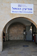 Israel, Jerusalem, Old City Wailing Wall Western Wall Information,