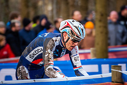 Christian HELMIG (60,LUX) 2nd lap at Men UCI CX World Championships - Hoogerheide, The Netherlands - 2nd February 2014 - Photo by Pim Nijland / Peloton Photos