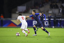 October 12, 2018 - Rouen, France - Abdulkadir Omur (Turquie) vs Maxime Lopez  (Credit Image: © Panoramic via ZUMA Press)