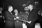 1966 - Presentation of Awards for entries in the N.A.I.D.A. St Patrick's Day Parade