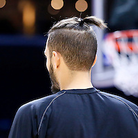 03 December 2014: Orlando Magic guard Evan Fournier (10) warms up prior to the Los Angeles Clippers 114-86 victory over the Orlando Magic, at the Staples Center, Los Angeles, California, USA.