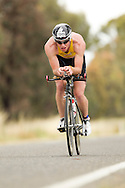 Iornman 70.3 Shepparton. Hosted By The Shepparton Triathlon Club. 13/11/2011. Photo By Lucas Wroe.