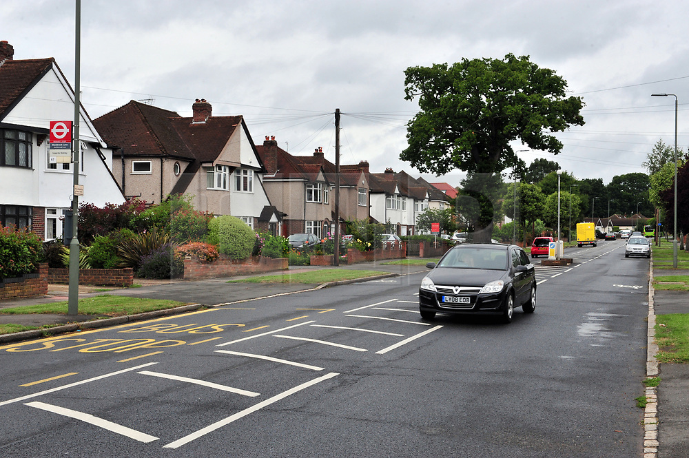 © Licensed to London News Pictures. 22/07/2017<br /> Blackbrook Lane, Bickley.<br /> TRAVELLERS LEAVE AN ESTIMATED 250 TONES OF RUBBISH AFTER BEING EVICTED .<br /> After 14 days of no help from Bromley Council A group called Thornet Wood Co Owners had to take out a private injuction to have travellers removed from private land Called Blackbrook Lane Land which is adjacent to Thornet Wood Road, Bickley, Greater London.  The travellers have left 250 tons of rubbish behind including baths,bricks,mattresses,wood,fridges,plastics etc..while the fire brigade and Enviroment agency are happy there is no hazardous waste it is now going to cost the consortium of land owners an estimated £100,000 to clear and clean the site.<br /> Photo credit: Grant Falvey/LNP