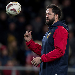 Andy Farrell, during game 4 of the British and Irish Lions 2017 Tour of New Zealand,The match between  Highlanders and British and Irish Lions, Forsyth Barr Stadium, Dunedin, Tuesday 13th June 2017<br /> (Photo by Kevin Booth Steve Haag Sports)<br /> <br /> Images for social media must have consent from Steve Haag