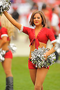 Tampa Bay Buccaneers cheerleaders during the San Francisco 49ers 33-14 win over the Buccaneers at Raymond James Stadium on December 15, 2013 in Tampa, Florida.                                    ©2013 Scott A. Miller