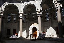 The Nuruosmaniye Mosque in Istanbul, Turkey