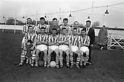 17/02/1963<br /> 02/17/1963<br /> 17 February 1963<br /> Soccer: Transport v Cobh Ramblers at Harold's Cross, Dublin.<br /> The Transport team.