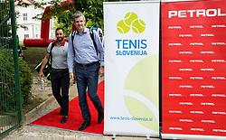 Aljaz Kos and Tomaz Berlocnik at Petrol VIP tournament 2018, on May 24, 2018 in Sports park Tivoli, Ljubljana, Slovenia. Photo by Vid Ponikvar / Sportida