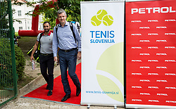 Aljaz Kos and Tomaz Berlocnik at Petrol VIP tournament 2018, on May 24, 2018 in Sports park Tivoli, Ljubljana, Slovenia. Photo by Vid Ponikvar / Sportida