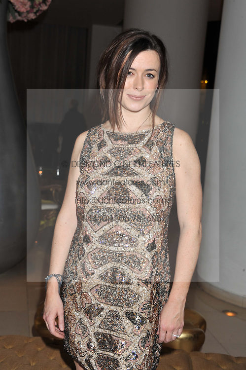 EVE MYLES at an after show party following the opening night of All New People held at the St.Martin's Lane Hotel, London on 28th February 2012.