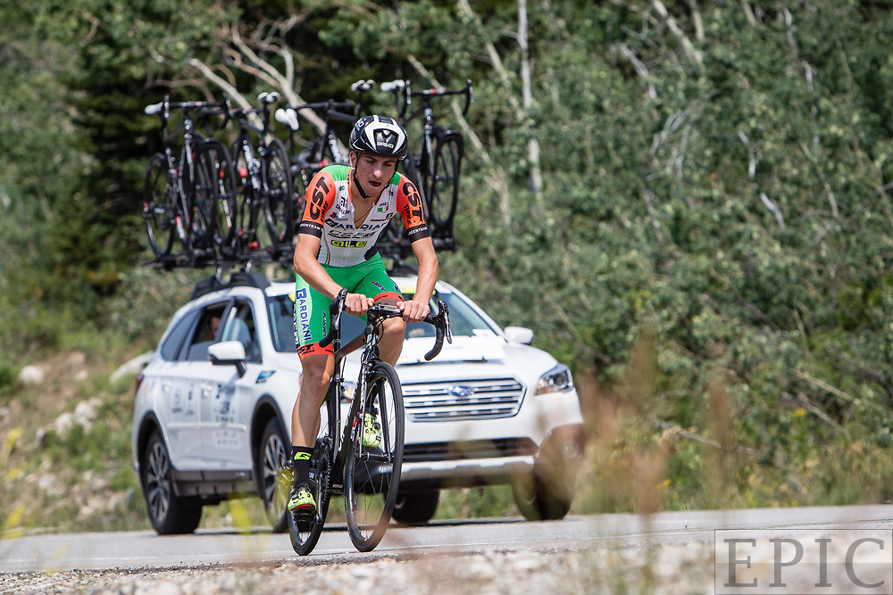 Cycling: Larry H. Miller Tour of Utah 2017 / Stage 3 - Giulio Ciconne (Bardiani CSF), 5th place.<br /> <br /> Big Cottonwood Canyon (9km) / TOU / ITT / Individual Time Trial / Utah  <br /> &copy; Jonathan Devich