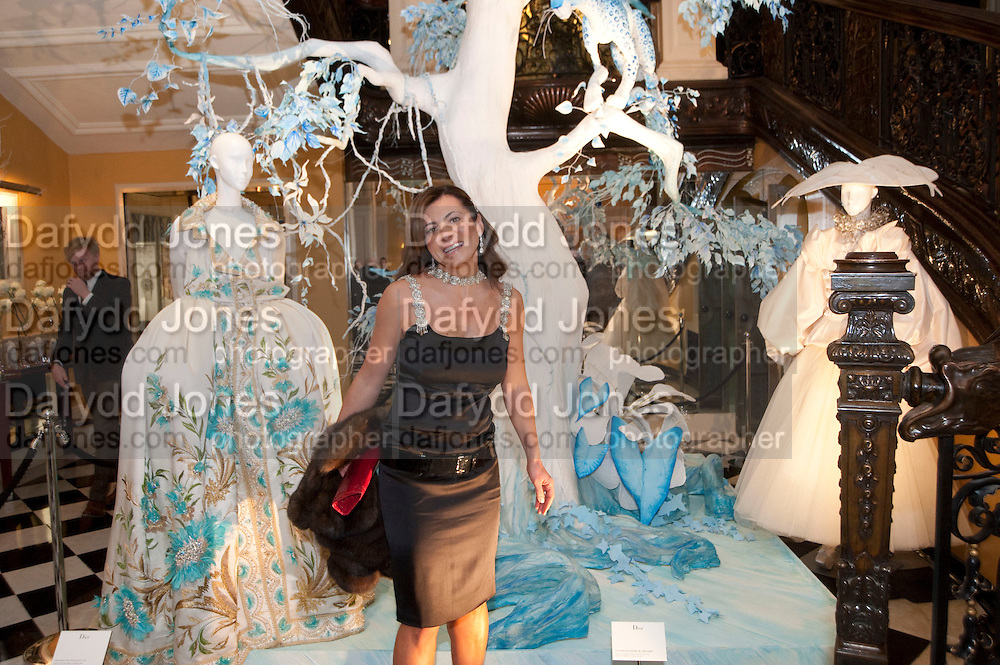 ELLA KRASNER, Unveiling of the Dior Christmas Tree by John Galliano at Claridge's. London. 1 December 2009<br /> ELLA KRASNER, Unveiling of the Dior Christmas Tree by John Galliano at Claridge's. London. 1 December 2009 *** Local Caption *** -DO NOT ARCHIVE-&copy; Copyright Photograph by Dafydd Jones. 248 Clapham Rd. London SW9 0PZ. Tel 0207 820 0771. www.dafjones.com.
