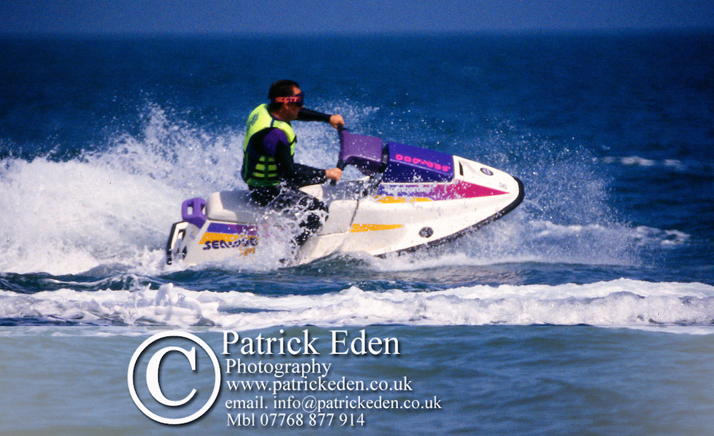 Sport, Power Boat, Wet Bike, Isle of Wight, England, UK photography photograph canvas canvases