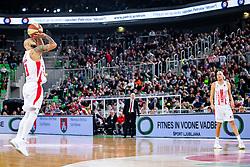 Filip Čović of KK Crvena Zvezda MTS during ABA basketball league round 9 match between teams KK Cedevita Olimpija and KK Crvena Zvezda MTS in Arena Stozice, 1. December, 2019, Ljubljana, Slovenia. Photo by Grega Valancic / Sportida