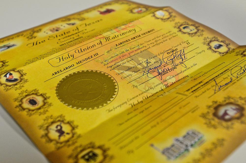 10/9/11 5:54:37 PM -- Zarines Negron and Abelardo Mendez III wedding Sunday, October 9, 2011. Photo©Mark Sobhani Photography