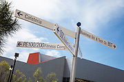 Campus Sign at Irvine Valley Community College