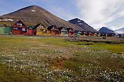 Houses in Longyearbyen, Svalbard.