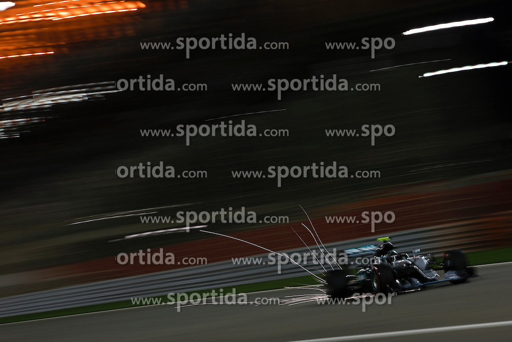 03.04.2016, International Circuit, Sakhir, BHR, FIA, Formel 1, Grand Prix von Bahrain, Rennen, im Bild Nico Rosberg (GER) Mercedes-Benz F1 W07 Hybrid // during Race for the FIA Formula One Grand Prix of Bahrain at the International Circuit in Sakhir, Bahrain on 2016/04/03. EXPA Pictures &copy; 2016, PhotoCredit: EXPA/ Sutton Images/ Gasperotti/<br /> <br /> *****ATTENTION - for AUT, SLO, CRO, SRB, BIH, MAZ only*****