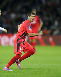Sevilla's Jose Antonio Reyes - Photo mandatory by-line: Joe Meredith/JMP - Mobile: 07966 386802 12/08/2014 - SPORT - FOOTBALL - Cardiff - Cardiff City Stadium - Real Madrid v Sevilla - UEFA Super Cup