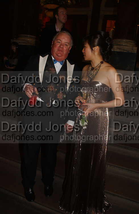 Lord Michael Pratt and Cynthia Wu. Belle Epoche gala fundraising dinner. National Gallery. 16 March 2006. ONE TIME USE ONLY - DO NOT ARCHIVE  © Copyright Photograph by Dafydd Jones 66 Stockwell Park Rd. London SW9 0DA Tel 020 7733 0108 www.dafjones.com