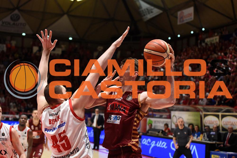 Benjamin Ortner<br /> The Flexx Pistoia Basket - Umana Reyer Venezia<br /> Lega Basket Serie A 2016/17<br /> Pistoia, 19/05/2017<br /> Foto Ciamillo-Castoria