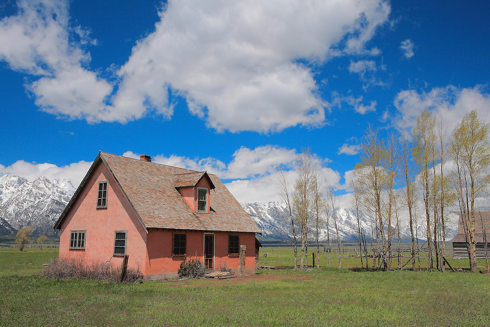 Mormon Row Homestead - Grand Tetons, WY